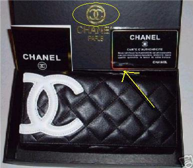 9798260ada73 Below is an image of another fake Chanel wallet