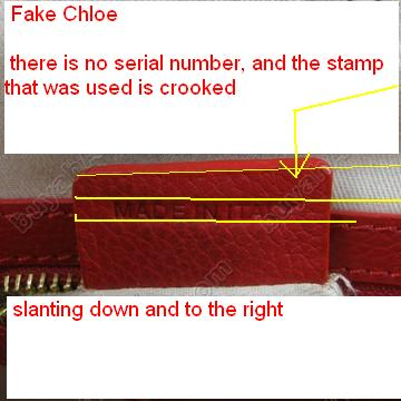 chloe replicas - How to Spot a Fake Chloe Serial Numbers