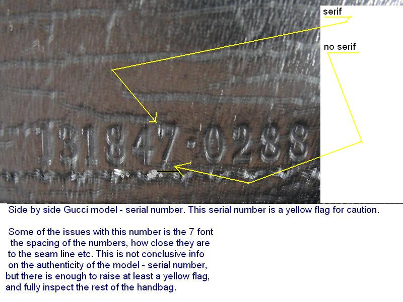 Gucci Belt Serial Number >> Gucci Serial Numbers - Real or Fake Handbag labels?