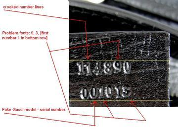 2c163e8f8aa0 Gucci Serial Numbers - Real or Fake Handbag labels?