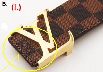How To Avoid A Fake Louis Vuitton Belt