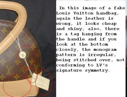 94c6da9157 ... fake Louis Vuitton leather: phony lv leather