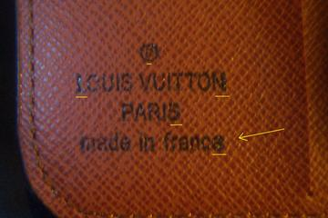 daacb8836253 Spot Fake Louis Vuitton Monogram Wallet