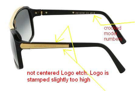Louis Vuitton Sonnenbrille Fake