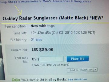 Are The Oakley Sunglasses Legit  spotting phony oakley radar sunglasses on ebay