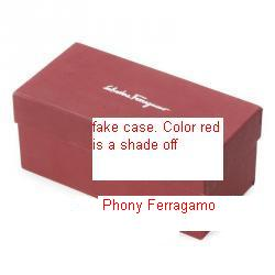 Fake salvatore sunglasses red box