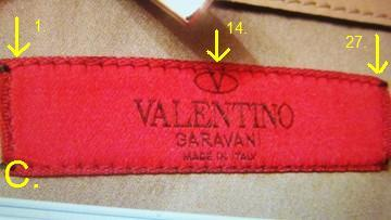 ysl wallet online - Spot Fake Valentino label | Red Valentino Label