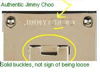 8fbb371cfc Spotting Phony Jimmy Choo Online