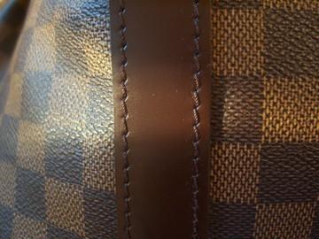 Spot A Fake Louis Vuitton Damier Keepall 55