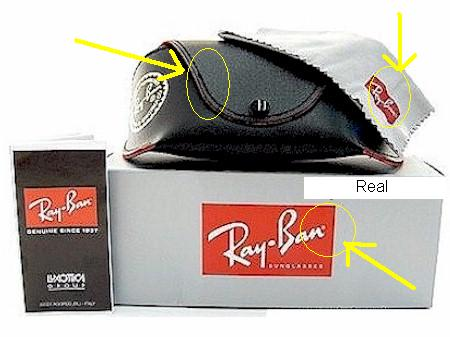 authentic ray bans for cheap  Spot Fake Ray Ban Sunglasses