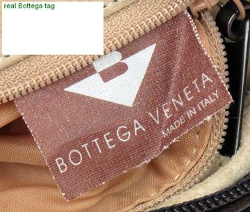authentic Bottega Veneta brown arrow tag