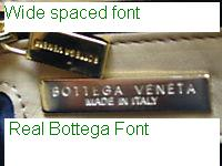 real Bottega logo stamp