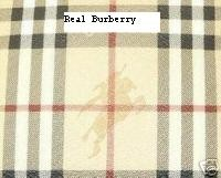 Note Burberry Utilizes Pvc For Manufacturing Their Handbag