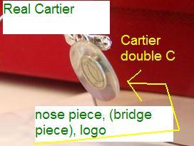 841577ec9f68 How to Spot Fake Cartier Glasses