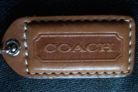 authentic coach tag