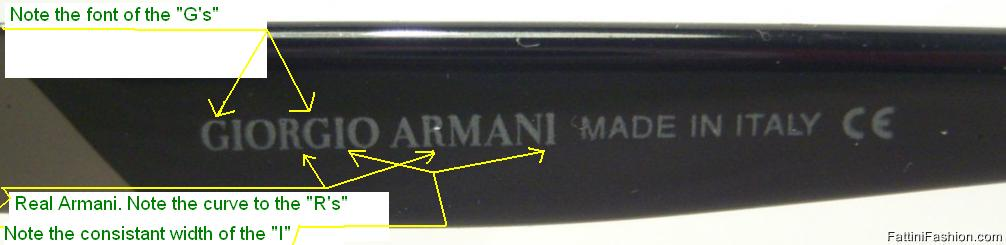 b887df89 How to Spot Fake Giorgio Armani Sunglasses