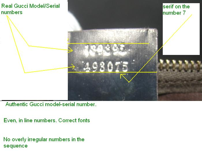 Gucci Serial Numbers Real Or Fake Handbag Labels