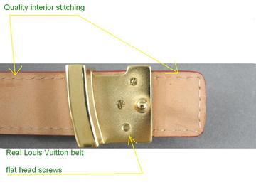 a77ab4a6bc05 Spot a Fake Louis Vuitton Belt - Quick Tips