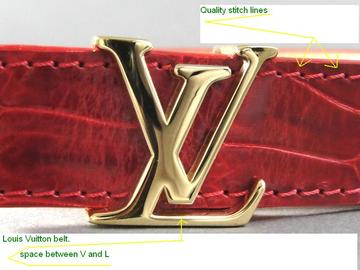 f21709d6893 Spot a Fake Louis Vuitton Belt - Quick Tips