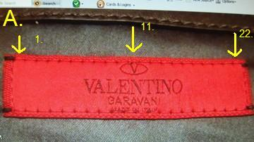 f115105103c Spot Fake Valentino label | Red Valentino Label