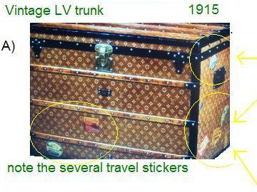 How to Spot Fake Vintage Louis Vuitton Luggage